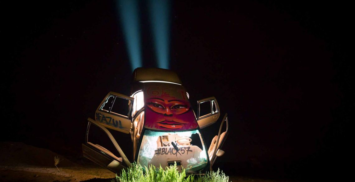 Car Light Painting Goldfield USA