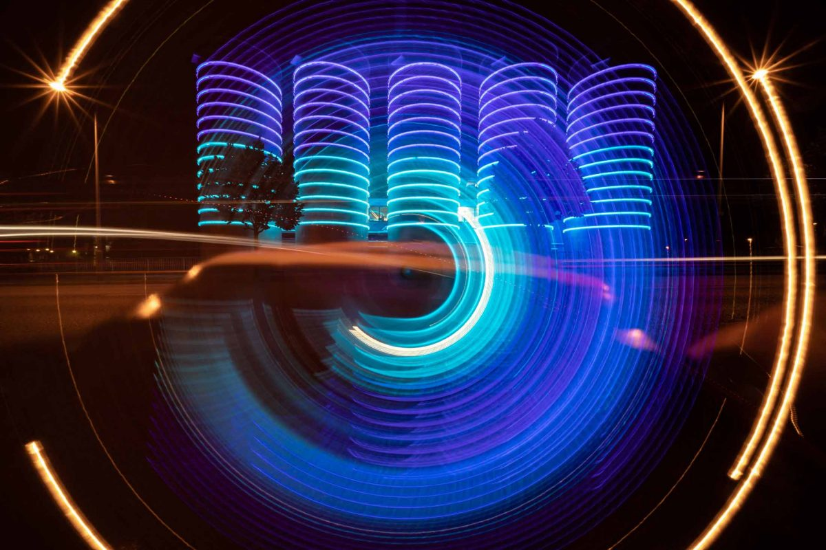 Camera Rotation - Light Painting