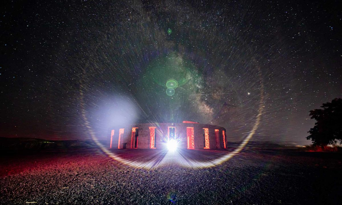 Light Painting Stonhenge Maryhill