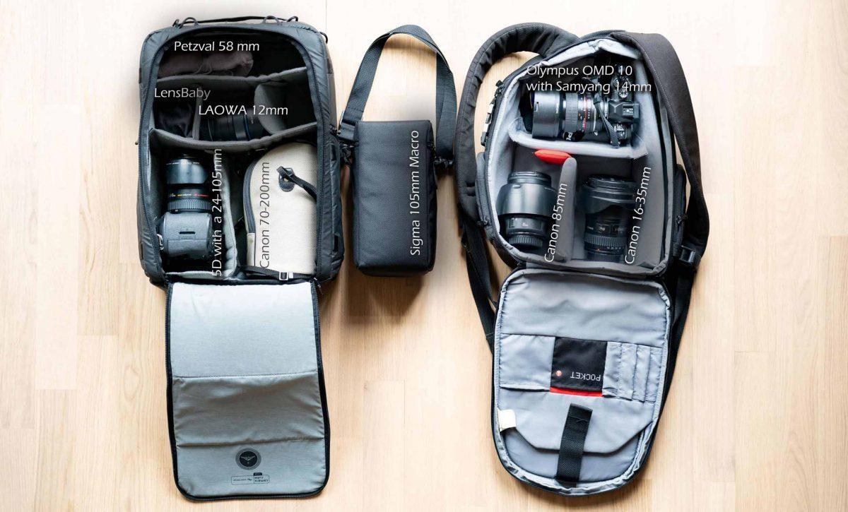Compare Lens Size