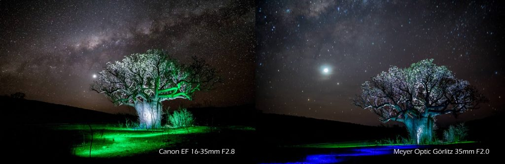 Light Painting Photograph Milkyway