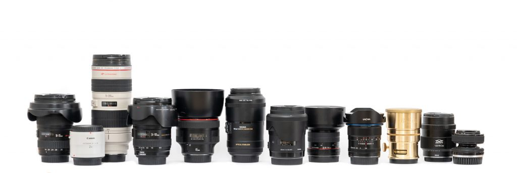 Canon EF mount Lenses