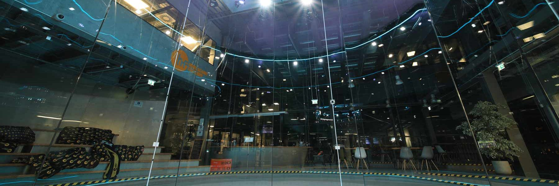 Hurrican Factory Berlin Wind Tunnel