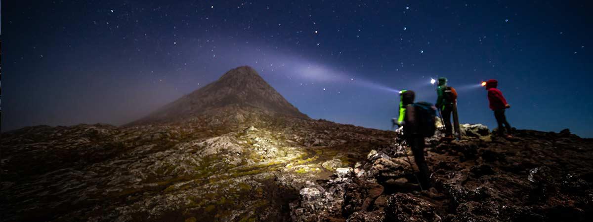 Pico Night Climb
