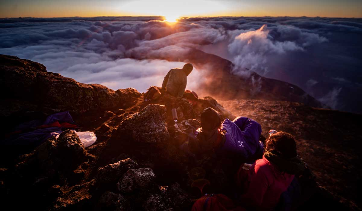 Sunrise on Pico Mountain