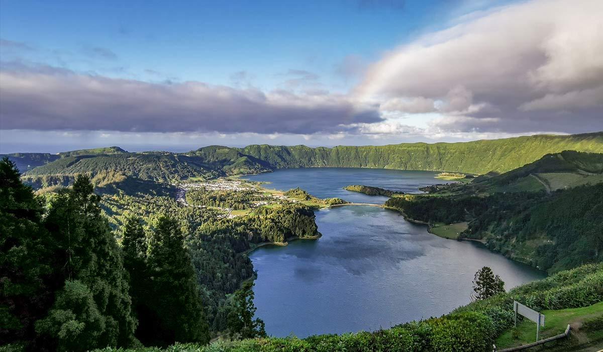 Vista do Rei Sao Miguel Azores