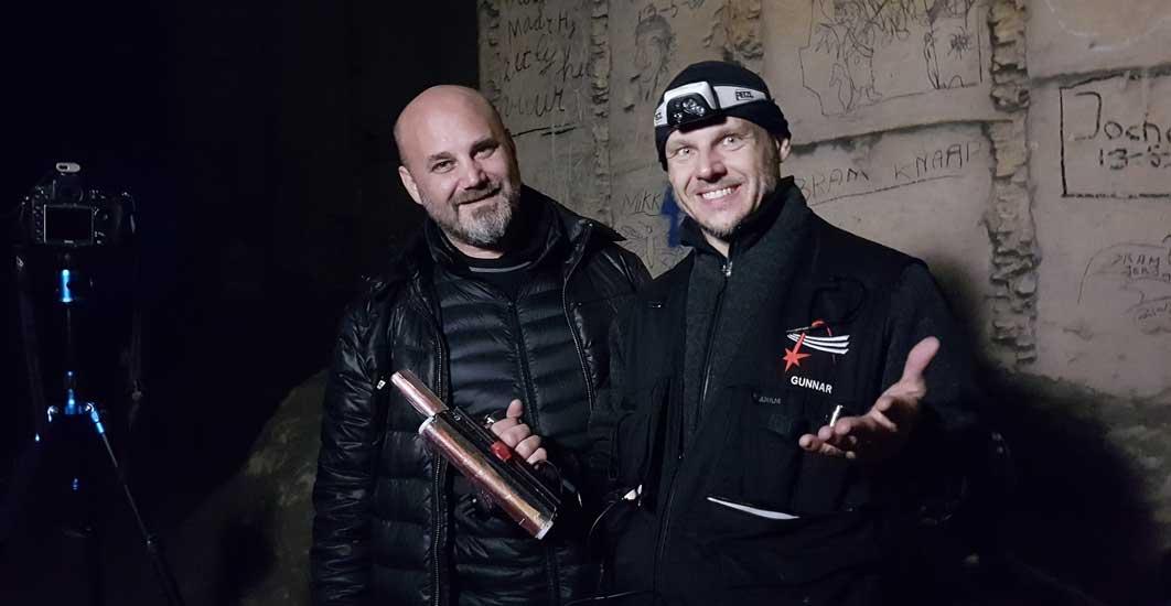 Light Painters Cisco meeting Gunnar Heilmann