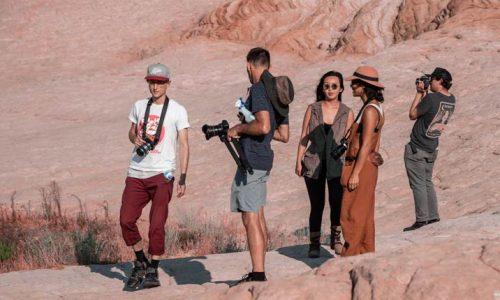Light Painters Meteor Jam 2018 White Pocket Exploration